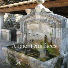 Mediterranean Outdoor Fountains And Ponds by Ancient Surfaces
