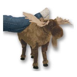 Plush Foot Stools - Moose -