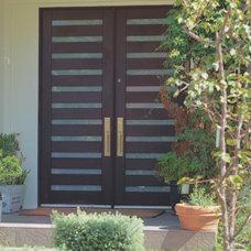 Contemporary Front Doors by ETO Doors