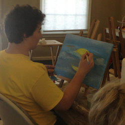Faux Finishing, murals and hand painting - Interior Images art class
