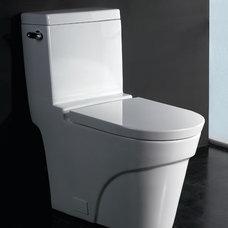 Contemporary Toilets by builper.com