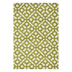 "Loloi Rugs - Loloi Rugs Cassidy Collection - Green, 3'-6"" x 5'-6"" - Featuring an incredibly soft texture, the Cassidy Collection is a haven for bare feet. Try it in the bedroom, bathroom, or living room and experience one of the most comfortable rugs you'll ever feel. The 100% polyester surface is not only one of the softest materials on the rug market, it's also incredibly durable, stain resistant, and color fast - making Cassidy a smart choice for the most high traffic rooms in your home. Power loomed in China."