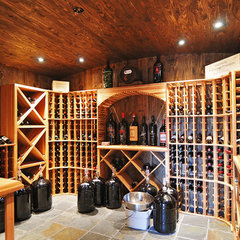 contemporary wine cellar by RGN Construction