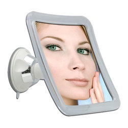 Zadro Products - Zadro Z'Swivel Power Suction Cup Mirror Multicolor - PSC210 - Shop for Makeup and Vanity Mirrors from Hayneedle.com! When bells and whistles just aren't your thing the Zadro Z'Swivel Power Suction Cup Mirror is going to let you see that reflection you've been looking for. This 5-inch mirror provides 10X magnification and is mounted into an acrylic frame. You will be able to install this fixture almost anywhere thanks to the durable suction cups. The multi-position design lets you change the angle of this mirror to get the best position possible.About Zadro ProductsZadro Products has been a leading innovator in bath accessories mirrors cosmetic accessories and health products for over 25 years. Among the company's innovations are the first fogless mirror first variable magnification mirror first surround light mirror and more. Not a company to rest on its laurels Zadro continues to adapt to the ever-changing needs of modern life.