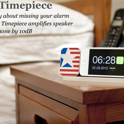 Ideal Timepiece - Find your iPhone a perfect home after you complete the decor f your new place!!
