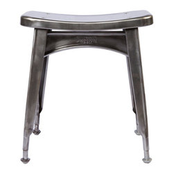Dulton - Kitchen Stool (Raw) - The Dulton's kitchen stool is a low height stool. Made to last raw finish is perfect for any kitchen.