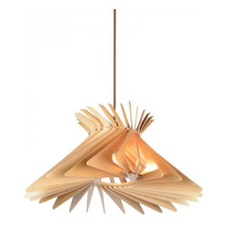 ParrotUncle - Plywood Twisted Flash Home Pendant Lighting - Plywood Twisted Flash Home Pendant Lighting