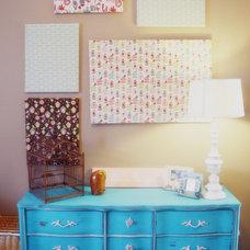 Eclectic  Refurbished vintage furniture
