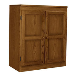 Concepts in Wood - Concepts in Wood Dry Oak KT613C Storage/Utility Closet Multicolor - KT613C-3036- - Shop for Desks from Hayneedle.com! With options you don't typically find on a smaller cabinet the Dry Oak KT613C Storage/Utility Closet is the whole package. Small enough to fit almost anywhere the dry oak finish fits perfectly with almost any style. Featuring durable wood construction this cabinet offers both style and convenience.