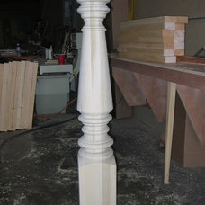 Traditional Stair Parts by Architectural Wood Designs