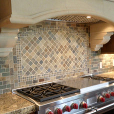 traditional tile by Stone & Pewter Accents