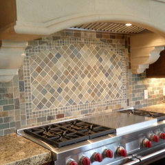 traditional kitchen tile by Stone & Pewter Accents