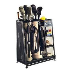 Golf Organizer Rack -
