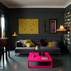 Eclectic  dark room
