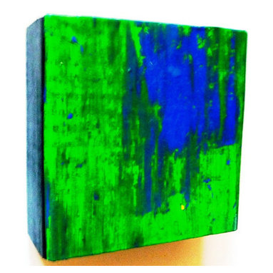 Rhapsody Collection - Original Wood and Paper Wall Sculpture - by Rosemary Pierce Modern Art