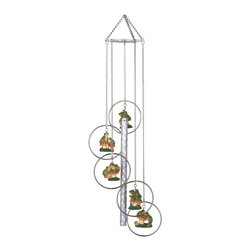 GSC - Wind Chime 5-Ring Polyresin Charm Frog Music Hanging Garden Decoration - This gorgeous Wind Chime 5-Ring Polyresin Charm Frog Music Hanging Garden Decoration has the finest details and highest quality you will find anywhere! Wind Chime 5-Ring Polyresin Charm Frog Music Hanging Garden Decoration is truly remarkable.