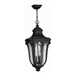 Hinkley Lighting - Hinkley Lighting 1312MB Trafalgar Museum Black Outdoor Hanging Lantern - Hinkley Lighting 1312MB Trafalgar Museum Black Outdoor Hanging Lantern