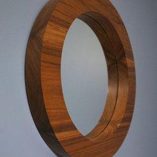 Modern Mirrors by Musheno Woodworking Company