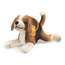 Steiff - Steiff Little Friend Benny Beagle Puppy Dog EAN 280368 NWT - Steiff Little Friend Benny Beagle Puppy Dog is made of cuddly soft russet, black and white plush. Machine washable. Ages 3 and up. Handcrafted by Steiff of Germany.
