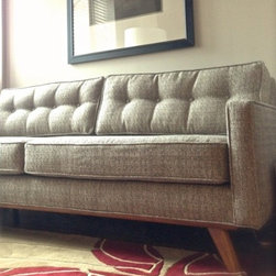 Taylor Sofa - Thrive Furniture - Taylor Sofa in Expectation Grey