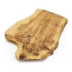 "Bambeco Root Wood Cheese Board - Reclaimed Shan Mu fir roots find new life in our Root Wood Cheese Board. Skilled artisans hand carve each piece into a unique work of art that will bring organic charm to your home. Hand carved from sustainable woods with a gorgeous grain and finished with a food-safe lacquer. These stunning conversation pieces are perfect for serving cheese, canapés, or displaying a decadent dessert. Each piece is unique, reflecting the artist's own hand combined with nature. The roots are reclaimed from sustainable logging operations to allow faster planting and regrowth of new seedlings. Each stunning cheese board is unique, and exact dimensions will vary due to the handcrafted nature of this item.  Dimensions: 12""L x 10""W x .5""H  Care: Hand wash with mild soap, rinse and wipe dry. Treat occasionally with a light food-safe wax or oil to brighten the luster."