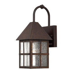 The Great Outdoors - The Great Outdoors GO 8581 1 Light Outdoor Wall Sconce from the Townsend Collect - Single Light Outdoor Wall Sconce from the Townsend CollectionFeatures: