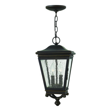 Hinkley Lighting - Hanger OutdoorLincoln Collection - Lincoln defines classic design with authentic hinged doors and panels of clear seedy glass adding to the allure of this traditional cast aluminum lantern.