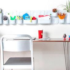 Modern Display And Wall Shelves  Urbio Modular Garden and Wall Organizer