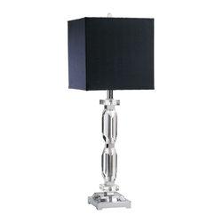 Cyan Design - Cyan Design Deon Contemporary Table Lamp X-58920 - Deon Table Lamp