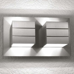 LumenArt - LumenArt | AWL.13.2 Wall Sconce - Wall light for accent illumination.Material