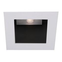 "WAC Lighting - 4"" LEDme Square Open Reflector Downlight Trim, Hr-Led451-Bk/Bn - 4"" LEDme Square Open Reflector Downlight Trim"