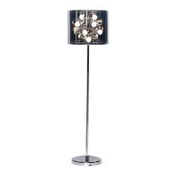 Adesso - Adesso 3261-22 Starburst Floor Lamp - Adesso 3261-22 Starburst Floor Lamp