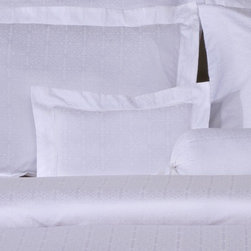 Pointehaven - 650 Thread Count Jacquard Boudoir Pillow in Ivory - Features: -Boudoir pillow. -Color: Ivory. -Material: Sateen weave, 100% pima cotton. -650 Thread count. -Fashion pillows, soft and luster. -Very fine fabric made on latest Jacquard looms. -Matching with luxury duvet sets.