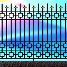 Traditional  by architectural traditional  metal  iron work