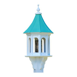 Large Gazebo Bird Feeder Copper/Vinyl