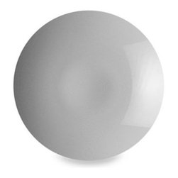 Rosenthal - Rosenthal Thomas Loft 13-Inch Round Shallow Centerpiece Bowl in White - Fresh and contemporary, this porcelain Loft White dinnerware is simple and functional. It moves with ease from casual dining occasions to formal ones.