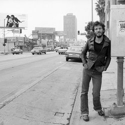 "Bruce Springsteen 1975 Sunset Strip 3, 72"" X 48"" - Silver Gelatin, Limited Edition, Signed and Numbered (editions of 50 with 10 artists proofs)"