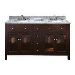 "60"" Rapallo Double Sink Vanity -"