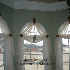 Eclectic Window Treatments by The Interiors Workroom, Inc