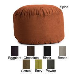 Comfort Research - FufSack Wide Wale Corduroy 3-foot Bean Bag Chair - If you need lightweight,comfortable seating for a dorm room or play area,this corduroy beanbag chair from FufSack is perfect. The chair comes in several colors to match any area and is great for relaxing in front of the TV or playing video games.
