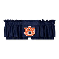 Sports Coverage - NCAA Auburn Tigers College Football Locker Room Valance - FEATURES: