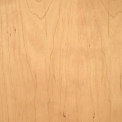 Cabinet, B Grade Cherry Veneer - Cabinet grade cherry veneer is a lower B grade and typically has defects such as pin knots and small dark resin spots known as gum pockets. Available in a limited size and paperbacked sheet.