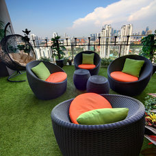 Modern Outdoor Lounge Chairs by Tammy Thet Htar/Boulevard