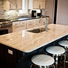 Transitional Kitchen Countertops by New Century Counter Tops