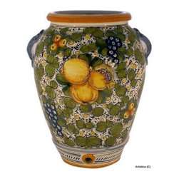 Artistica - Hand Made in Italy - TUSCANIA: Umbrella stand vase - TUSCANIA Collection: Tuscania is the Latin name for the Italian Tuscany region, cradle of art and culture, place of glamour and beauty.