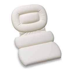 """Better Sleep - Three-Panel Bath Pillow - Turn your bath into an even more relaxing experience. Bath pillow has a three panel design that provides three-way support, while the soft 2"""" thick foam padding provides the ultimate in support and comfort."""