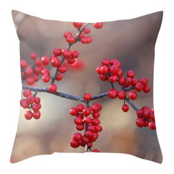 Back to Basics Pillows - Berry Sparkly Pillow Cover, 16x16 - Berry Sparkly was taken at Hop Brook State Park in Connecticut.
