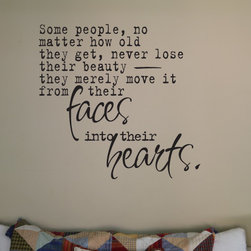 Some people... Vinyl Wall Decal gr005somepeoplei, Navy Blue, 42 in. - Vinyl Wall Quotes are an awesome way to bring a room to life!
