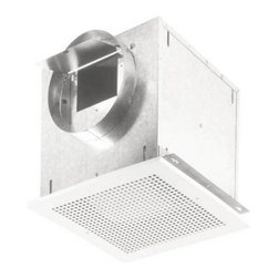 Broan-Nutone L150MG High Capacity Ventilation Fan with Metal Grille - Get the bad air out with a Broan L150MG High Capacity Ventilation Fan With Metal Grille. Breathe easier when this great fan is around.It is encased in a 20 gauge galvanized steel housing for toughness and durability. It installs horizontally, vertically, or in-line with an available adapter. There's virtually no way it won't fit in your new or remodeled home.Nothing is more completely usable when it comes to vent fans. When connected to a GFCI branch circuit, it is UL listed for use over bathtubs and showers. The last thing you need is a fan that sounds like a helicopter. This one operates in the same sound range as normal speaking volume. Master the sound level and blower speed by adding an available electronic speed control.The neutral, low profile grille will match whatever interior style you've got going. It's just that easy.About Broan-NuToneBroan-NuTone has been leading the industry since 1932 in producing innovative ventilation products and built-in convenience products, all backed by superior customer service. Today, they're headquartered in Hartford, Wisconsin, employing more than 3200 people in eight countries. They've become North America's largest producer of medicine cabinets, ironing centers, door chimes, and they're the industry leader for range hoods, bath and ventilation fans, and heater/fan/light combination units. They are proud that more than 80 percent of their products sold in the United States are designed and manufactured in the U.S., with U.S. and imported parts. Broan-NuTone is dedicated to providing revolutionary products to improve the indoor environment of your home, in ways that also help preserve the outdoor environment.