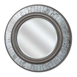 Paragon - Paragon Round Silver Sparkle  by Mirrors  - 30 X 30 - Title Paragon Round Silver Sparkle  by Mirrors  - 30 X 30